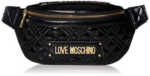 Love Moschino Damen Jc4005pp1a Umhängetasche, Schwarz (Nero), 9x16x26 centimeters