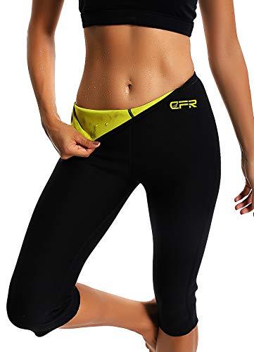 STARBILD Leggins Deportivas para Mujer para Adelgazar Leggins Anticeluliticos Mallas Termicos de Neopreno Fitness Deporte Correr Yoga Pantalón de Sudoración Adelgazantes