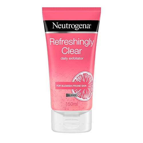 Neutrogena Exfoliante diario refrescante transparente, 150 ml
