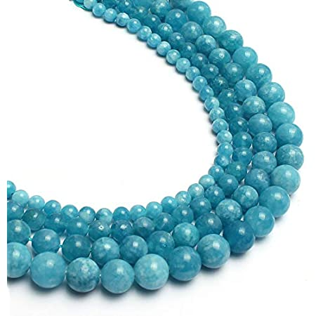 Paraiba Chalcedony 1 Strand 15 Pcs 10 mm Round Cabochon Smooth Jewelry Making Strand Beads Handmade Necklace Paraiba Chalcedony Gift For Her