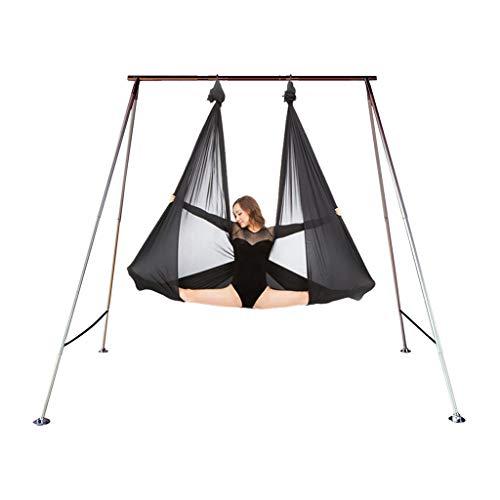 Soporte de yoga Dimpleya para el hogar y al aire libre, hamaca de yoga, soporte para espectáculos de negocios, hamaca de aire satinado, equipo de fitness
