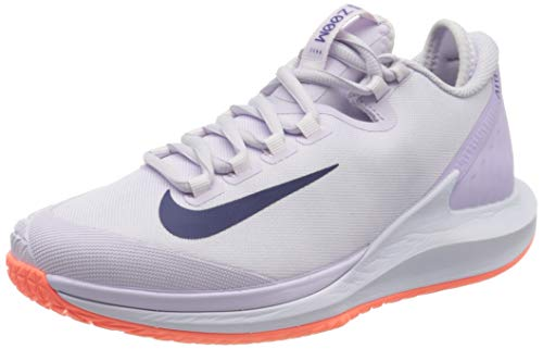 Nike W Nikecourt Air Zoom Zero HC, Zapatilla De Tenis para Mujer, Barely Grape Regency Purple BRT Mango Violet Mist White, 42 EU