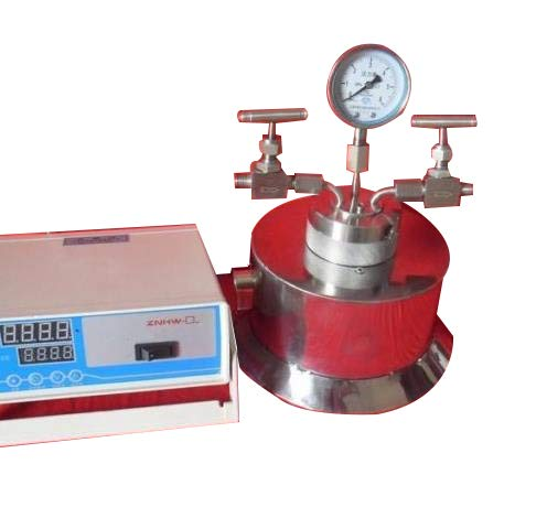 Huanyu Reactor de autoclave de síntesis hidrotérmica 200 ml 240 Centígrados 6Mpa salida de entrada de gas por encargo