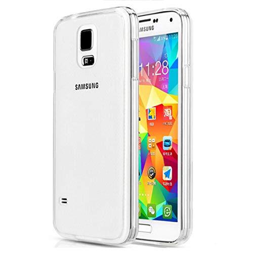 Roar Handy-Hülle für Samsung Galaxy S5 / S5 Neo, Hülle Transparent Silikon, Schutzhülle Silikonhülle [0.8mm Ultra Slim Case, Clear Cover, Durchsichtig, TPU Silikon]