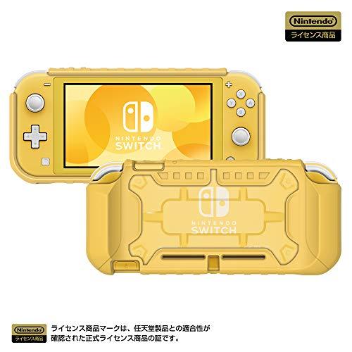 【任天堂ライセンス商品】タフプロテクター for Nintendo Switch Lite クリア✕イエロー 【Nintendo Switch ...