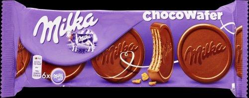 18 x Chocolade Koek Milka Choco Wafer 180 gram