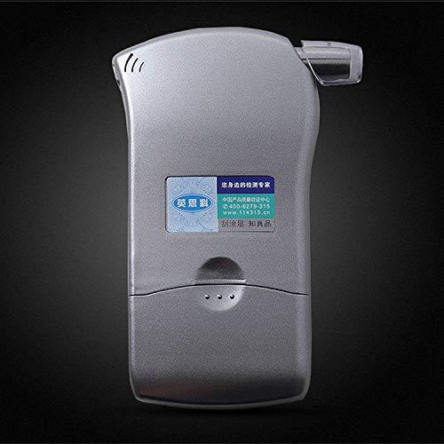 Testador de álcool, soprando ar, medindo a concentração de álcool ao dirigir, medindo prata