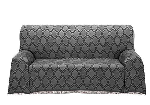 Cardenal Textil Roma Foulard Multiusos, Negro, 230x290 cm