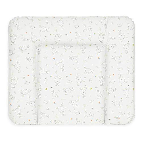 Ceba Baby Wickelauflage Wickelunterlage Wickeltischauflage 70x85 cm Abwaschbar - Weiß Traumhase 70 x 85 cm