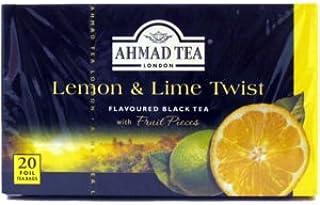 Ahmad Herbal Tea Bags, 20 Bags( Pack of 2) (Lemon & Lime)