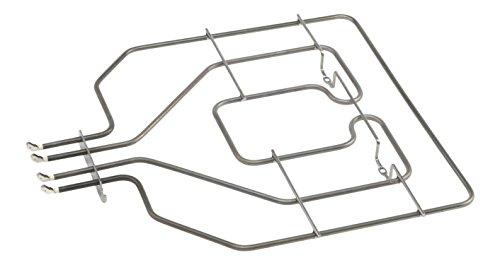 DREHFLEX - HZG422 - Oberhitze/Heizung / - passend für diverse Bosch/Siemens/Neff/Constructa Herde/Backofen - passend für Teile-Nr. 00684722/684722- E.G.O 20.35619.000 = 2035619000