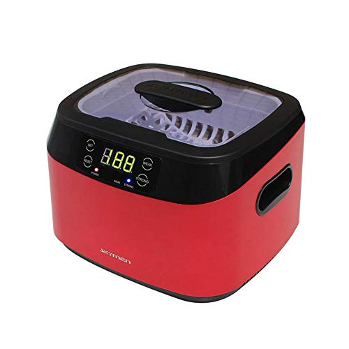 JINBAO Ultraschallreiniger, professioneller Haushalts-Digital-Timer, Poliermaschine, großer Reinigungstank, wasserdichtes Uhrenreinigungswerkzeug für Schmuck