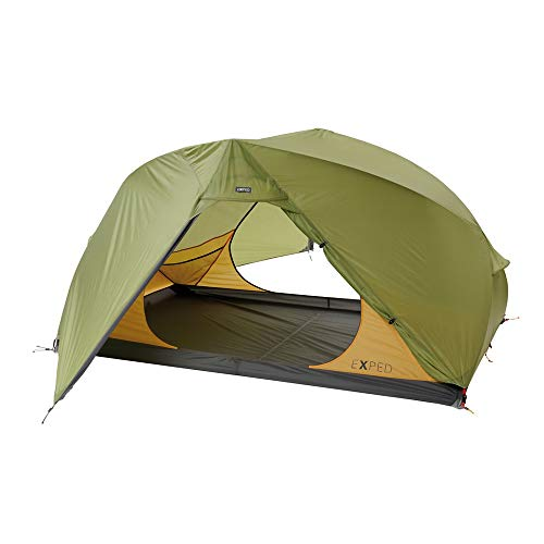 Exped Gemini IV Tent - 4 Person Green/Orange 4-Person