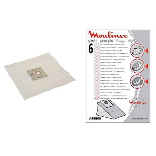 Boogy Moulinex Staubsaugerbeutel für kleine Elektrogeräte – A26B09