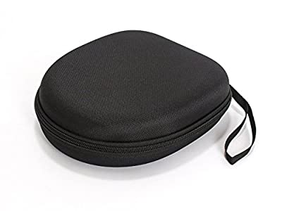 Rancross Carrying Headphone Case Bag for Sony MDR-XFB950BT MDRZX310 MDRZX330 COWIN E7 Bose QC25 Grado SR80, Fabric, Black, One Size by Rancross