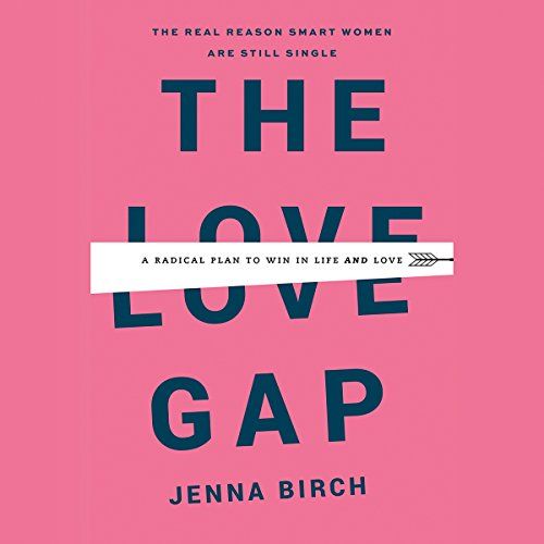 The Love Gap audiobook cover art