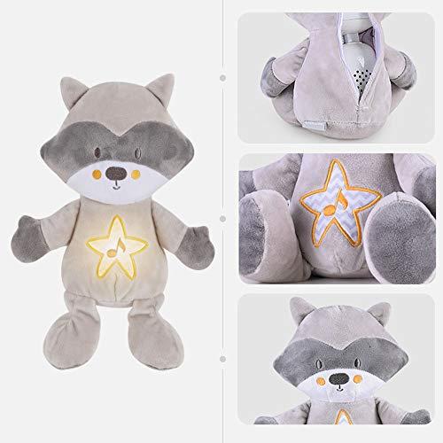 VSTAR66 Baby-Schnuller, tragbar, Schlafhilfe für Kleinkinder, weißes Rauschen mit Nachtlicht für Neugeborene und Jungen