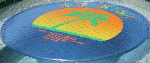 SSR SSRA-100 Solar Sun Rings Pool Water Heater w/ Anchors