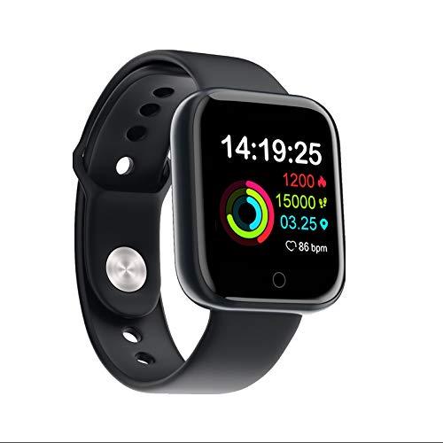 I5 Intelligente armband, bloeddrukmeter met hartslag, Bluetooth 4.0, kleurendisplay, smart armband, stappenteller, oefen-tracker  Blanco Y Gris