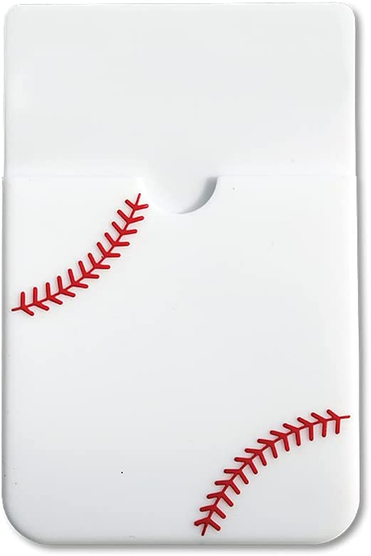Textured Sport Phone Wallet - Baseball, Holds Card Holder, IDs and Cash – Set of 12