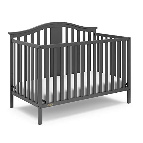 Product Image of the Graco Solano 4-in-1 Convertible Crib, Easily Converts to Toddler Bed Day Bed or...