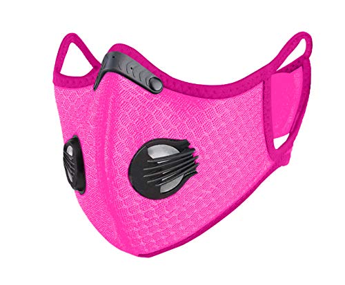 CLUX Custom Mesh Pink Sport Face Mask by Continental Luxury with Shipping from USA