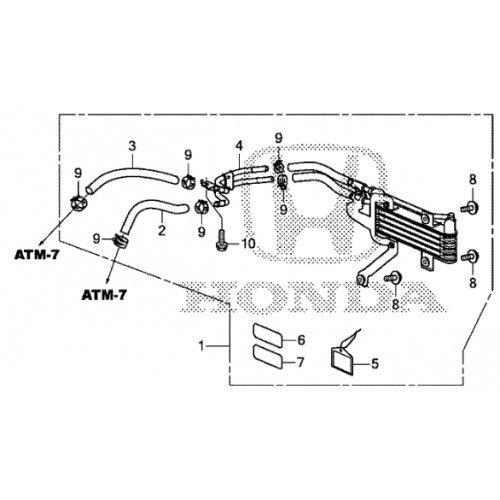 Honda Pilot ATF Cooler Kit W/ 6 Speed Automatic Transmission