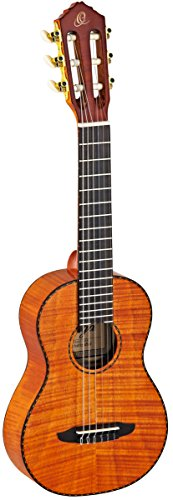Ortega Guitars RGL18FMH Guitarlele (Mix Gitarre / Ukulele) im hochglänzenden Finish mit hochwertigem Gigbag