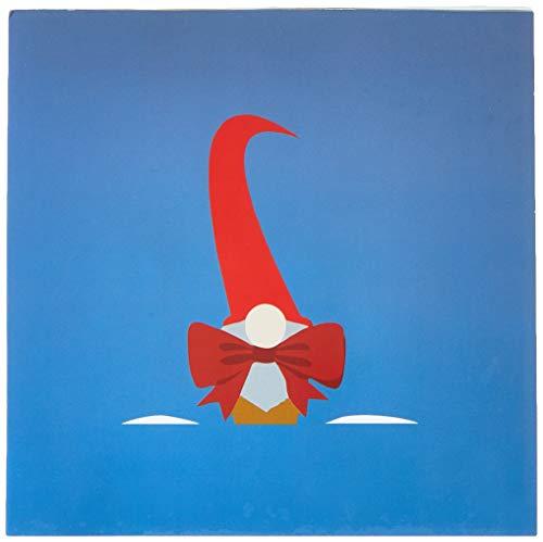 Tarjeta de felicitación con diseño de origami, Navidad Elfi