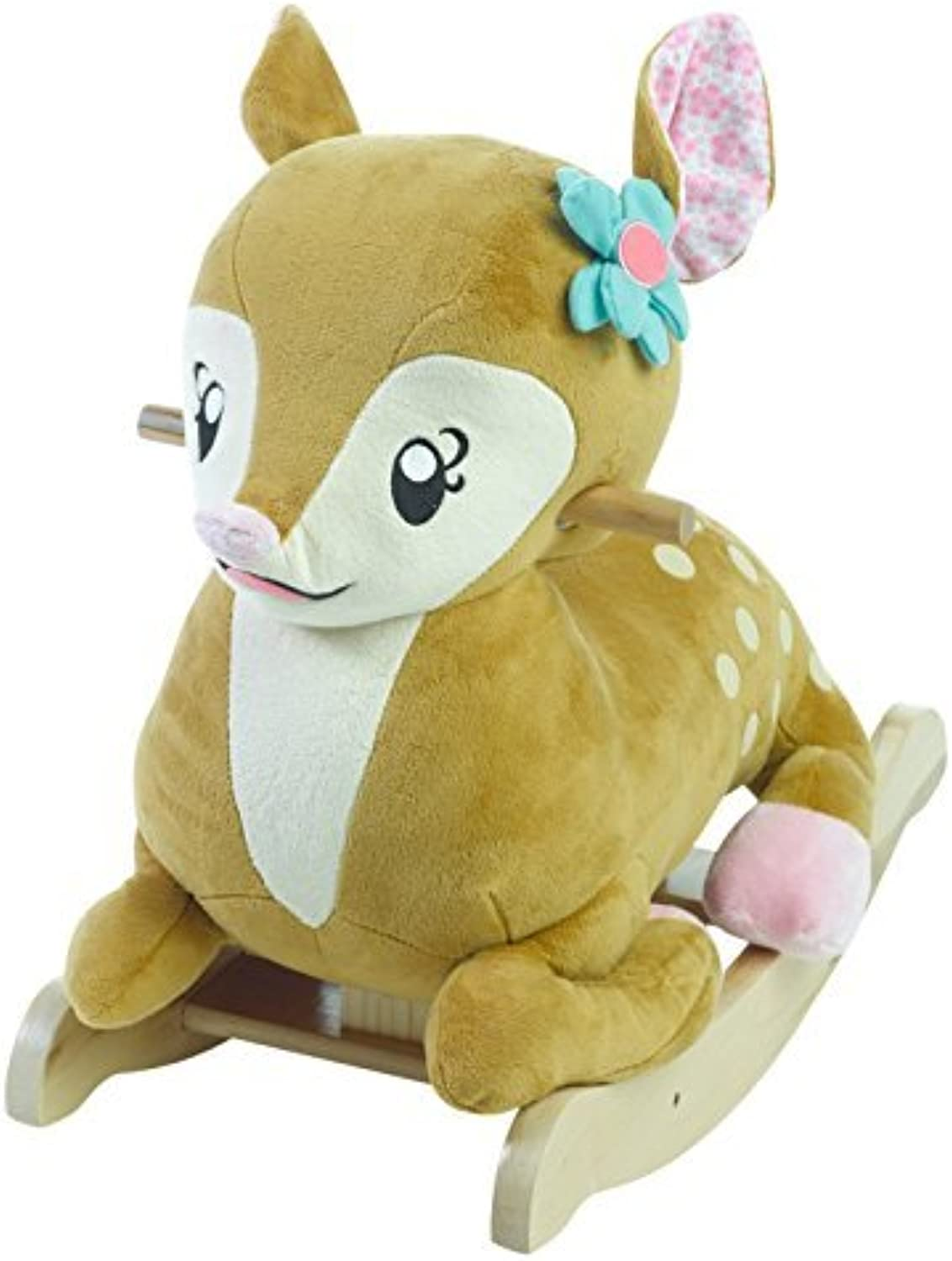 Rockabye Petals the Fawn Rocker Ride On by Rockabye
