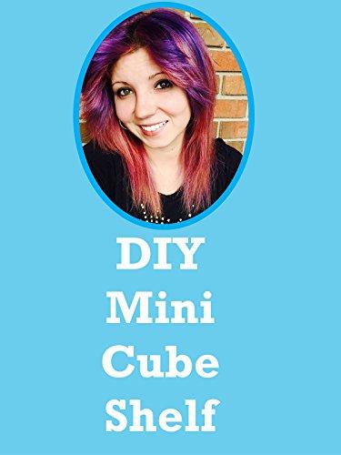 Popsicle Stick Crafts: DIY Mini Floating Cube Shelf: Room Decor