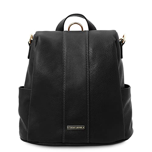 Tuscany Leather TL Bag - Zaino in pelle morbida - TL142138 (NERO)