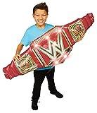 WWE Airnormous | Banner Inflable de cinturón masivo | WWE Universal Championship | Cinturón DLX WWE con Sonidos | Juego de rol | 137 cm de Ancho