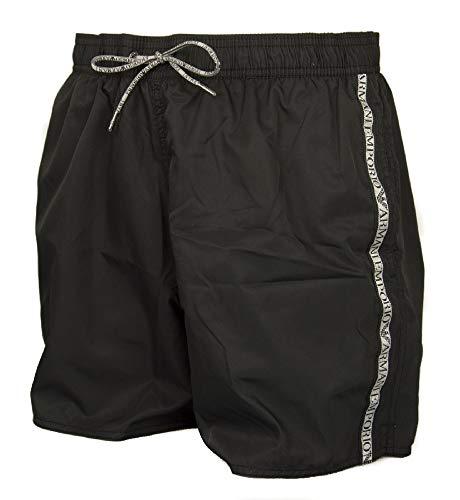 Emporio Armani Underwear 9p420 Costume da Bagno, Nero (Nero 00020), Medium (Taglia Produttore: 50) Uomo