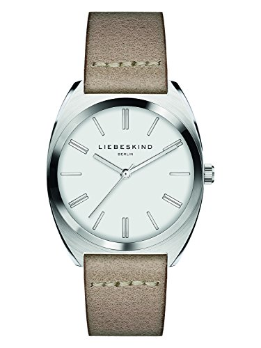 Liebeskind Berlin Damen Analog Quarz Uhr mit Leder Armband LT-0073-LQ