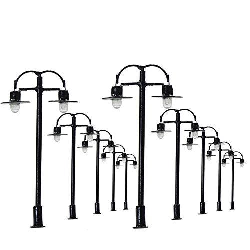 Evemodel L333 10 × Lampen Beleuchtungen Spur H0/00/N 4.5cm 12v'