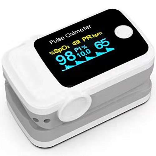 Oxímetro Digital de Pulso con Pletismografía