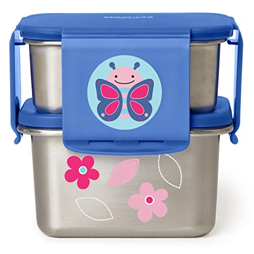 Great Features Of Skip Hop, Lunch Kit Stainless Zoo Butterfly
