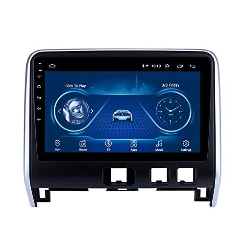 Kilcvt Sistema De NavegacióN GPS De 9 Pulgadas Unidad Principal Android 10 Radio De Coche Reproductor De DVD, para Nissan Serena 2016-2018 Soporte Control del Volante/DVD/Bluetooth