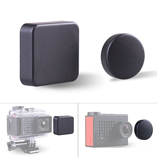 Andoer Protective Lens Cap Cover Housing Protector Kit for Garmin Virb Ultra 30 Sports Camera and Standard Protect Housing