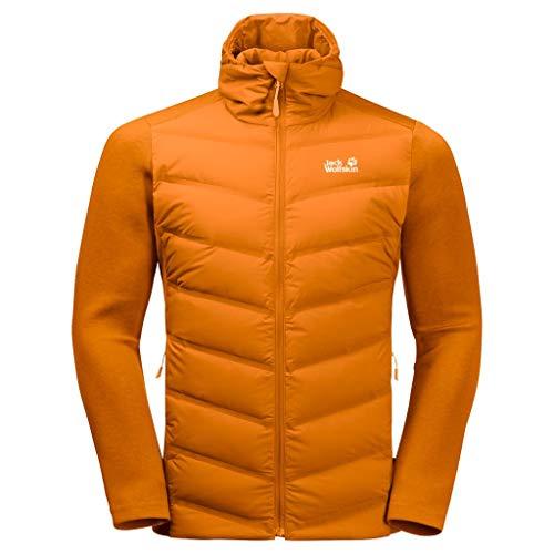 Jack Wolfskin Tasman Veste Homme Rusty Orange FR: XL (Taille Fabricant: 5)