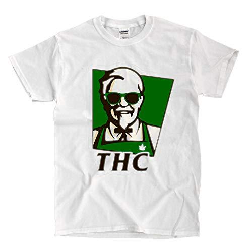 LSL Shirts KFC THC - White T-Shirt (XX-Large)