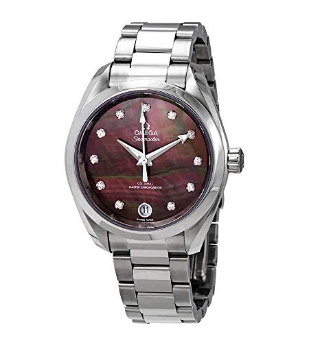 Omega Seamaster Aqua Terra Reloj automático cronómetro de mujer 220.10.34.20.57.001