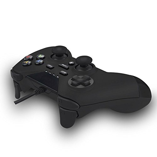 IHK Brand USB Wired Gaming PC Controller for Computer Laptop (Windows 10/8.1/8 / 7 / XP) / PS3 Plasytation 3 / Android Devices / PC360 / TV Box/Steam Game with Dual Turbo Vibration