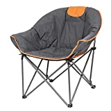 Suntime Leisure Moon Folding Camping Chair Stable and Portable to...