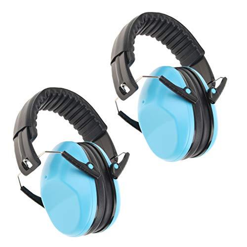 oshhni 2x Protetor Auricular Infantil Protetor Auditivo Abafadores de Redução de Ruído para Bebê Ajustável