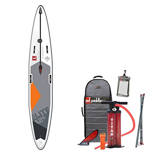 Red Paddle Co 2018 Elite 12'6 x 28 Infltable Stand Up Paddle...