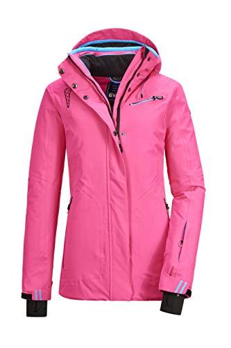Killtec Damen Cimetta WMN Ski Jckt E Funktionsjacke Mit Abzippbarer Kapuze Und Schneefang, pink, 50