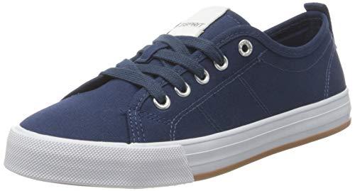 ESPRIT 031EK1W315, Zapatillas Mujer, 405 Azul Oscuro, 37 EU