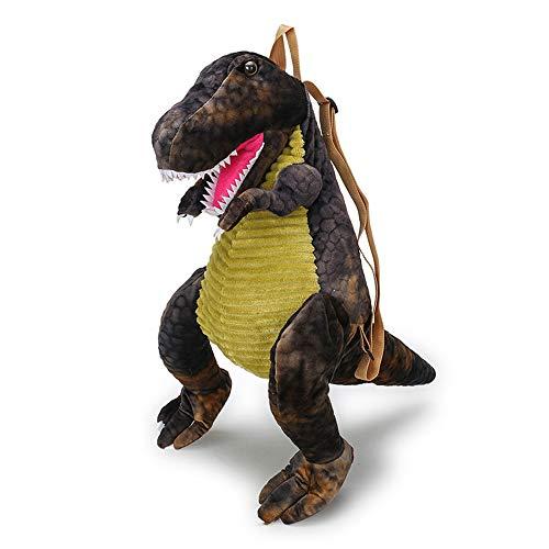 Plüsch Dinosaurier Rucksack Vorschule Umhängetasche, Kind 3D Dinosaurier Tasche Plüsch Cartoon Tasche, Kleinkind Rucksack für Mädchen Jungen, Kuscheltier Plüschtier Geburtstagsgeschenk für Kinder